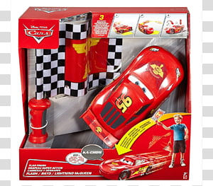 Lightning McQueen Cars Vehicle Mattel, car PNG clipart