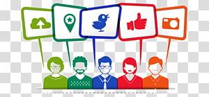 Social media marketing , social media PNG