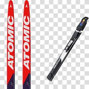 Ski Bindings Atomic Skis Cross-country skiing Langlaufski, skiing PNG clipart