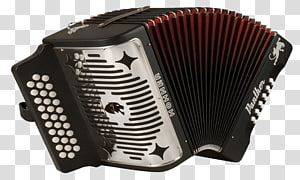 brown Hohner accordion, Accordion PNG clipart