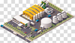 factory illustration, Recycling Factory Waste Infographic, warehouse factory PNG clipart