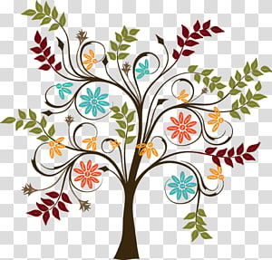 Tree , heart tree PNG clipart