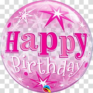 Mylar balloon Birthday Gift Party, balloon PNG clipart