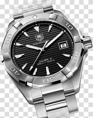 Automatic watch TAG Heuer Aquaracer Clock, jeremy lin PNG