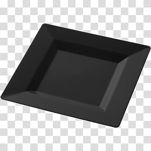 Plate Square Plastic Rectangle, Plastic Plate PNG