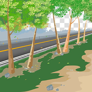 Road Illustration, road PNG clipart