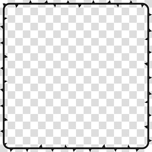 Square , thorns PNG