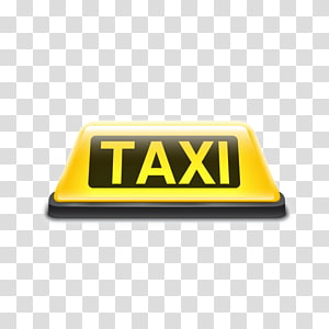Taxi signage, Taxi Yellow cab Sign Roof, Taxi sign PNG