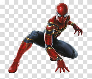 Spider-Man , Spider-Man Iron Man Hulk Thanos Captain America, spider-man PNG clipart
