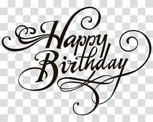 Happy Birthday , Birthday cake Wedding invitation , happy Birthday PNG