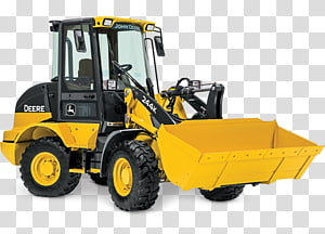 John Deere Tracked loader Heavy Machinery Tractor, tractor PNG clipart