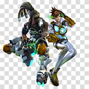 Overwatch Tracer Mercy Sombra Figurine, others PNG clipart