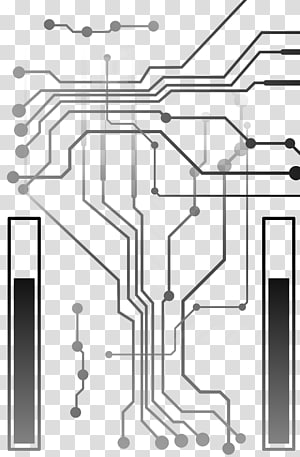 Printed circuit board Electrical network Technology, Technology circuit board PNG clipart