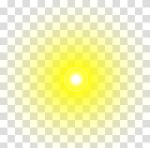 warm sun light effect PNG