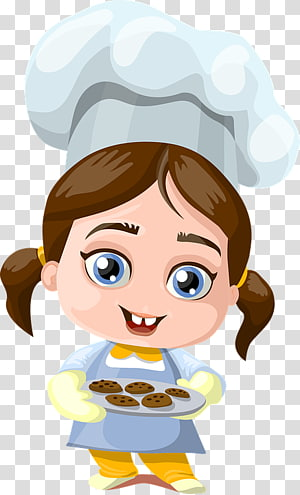 Chef Cooking Cartoon Woman Baking, womancooking PNG clipart