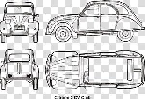 Citroën 2CV Car Citroën Acadiane Citroën Traction Avant, citroen PNG