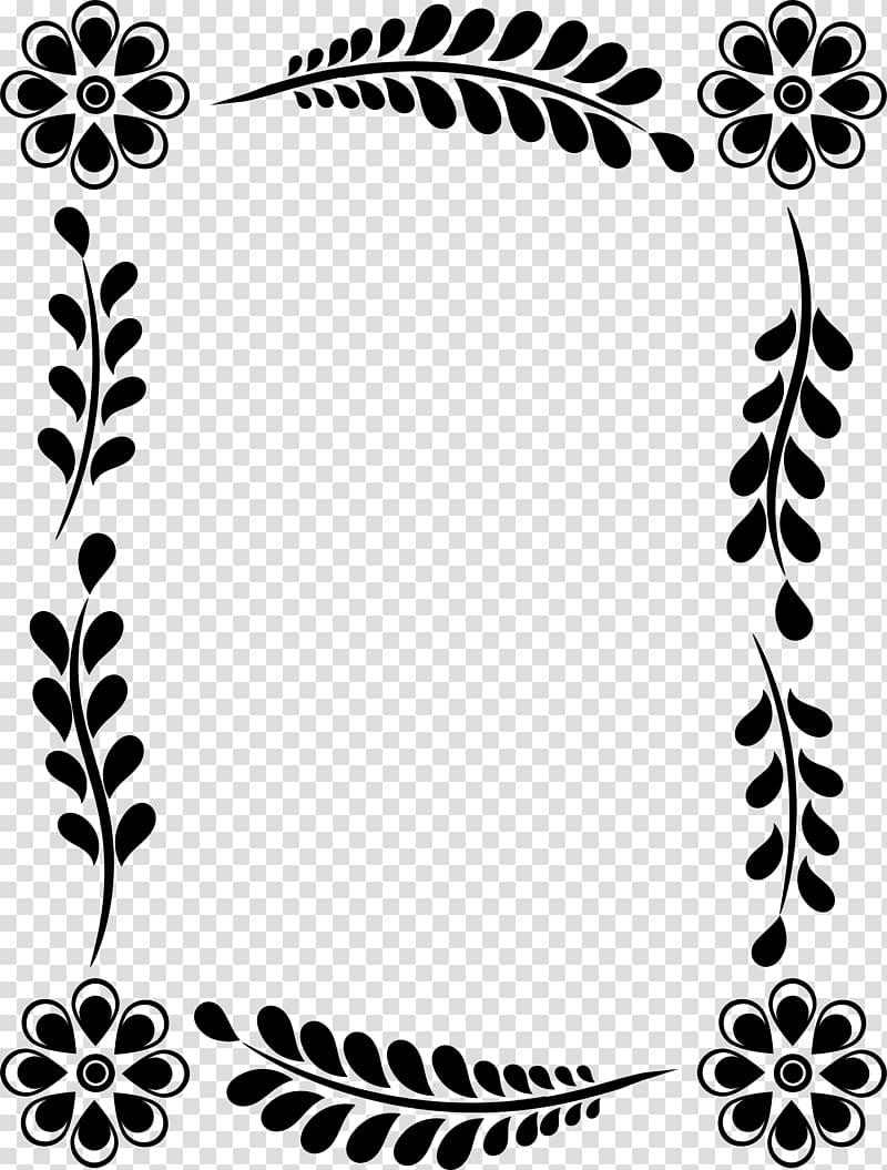 Leaf Flower Floral design Frames , leaf decoration box PNG
