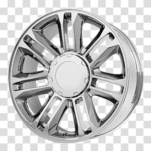 Car Chrome plating Wheel Rim Tire, rim PNG