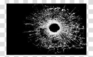 Bullet , Miscellaneous glass crack PNG