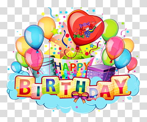 Happy Birthday to You Cartoon , joyeux anniversaire PNG clipart