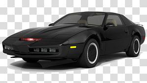 empty black coupe illustration, K.I.T.T. KARR Michael Knight Pontiac Firebird Car, Knight Rider PNG clipart