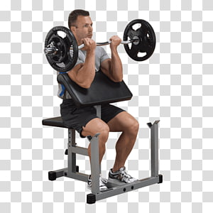 Bench Biceps curl Exercise Leg extension Fitness Centre, Panca Scott PNG