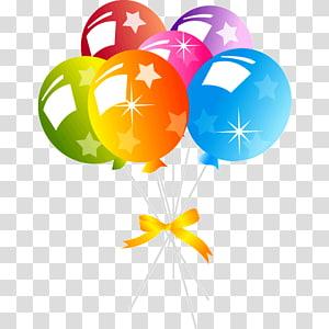 Birthday cake Balloon Party , balloon PNG clipart
