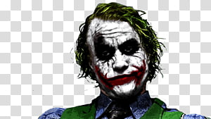 The Joker illustration, Joker The Dark Knight Batman Catwoman Heath Ledger, joker PNG clipart