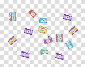 Purple Pattern, camera PNG clipart