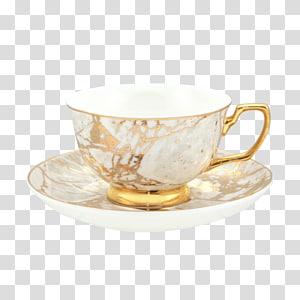 Teacup Mug Bone china Saucer Cristina Re, fuding white tea PNG