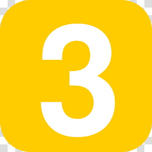 Number , Number 3 PNG clipart
