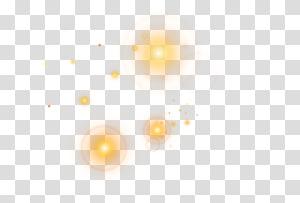 yellow light illustration, Light Yellow Angle Pattern, Yellow light effect element PNG clipart