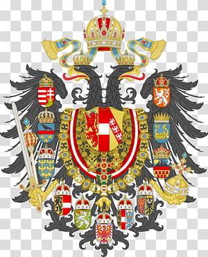 Austria-Hungary Austrian Empire Kingdom of Hungary Coat of arms, usa gerb PNG