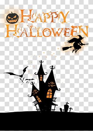 Halloween Poster, Halloween banner free PNG clipart