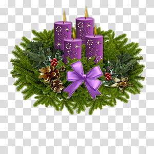 Christmas ornament Wish Advent wreath, christmas PNG