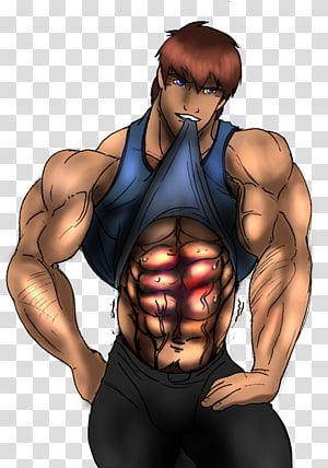 Drawing Art Bodybuilding Muscle, bruise PNG