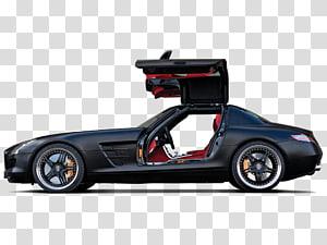 Mercedes-Benz SLS AMG Car tuning Supercar, mercedes benz PNG clipart