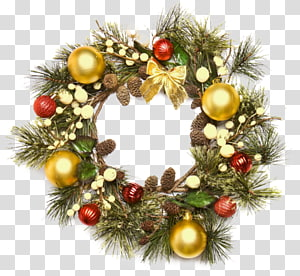 Christmas ornament Advent wreath Garland, christmas PNG clipart