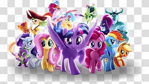 Pony Rainbow Dash Pinkie Pie Applejack Rarity, my litle pony PNG clipart