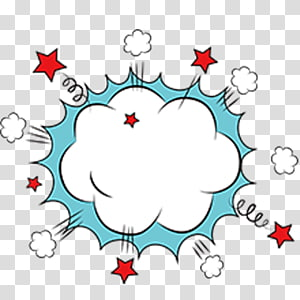 Cloud explosion PNG clipart
