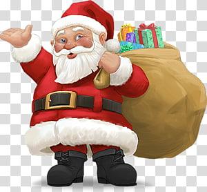 christmas santa claus PNG clipart