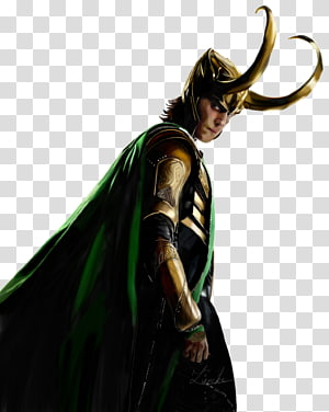 Outerwear Character Fiction, Loki Free PNG
