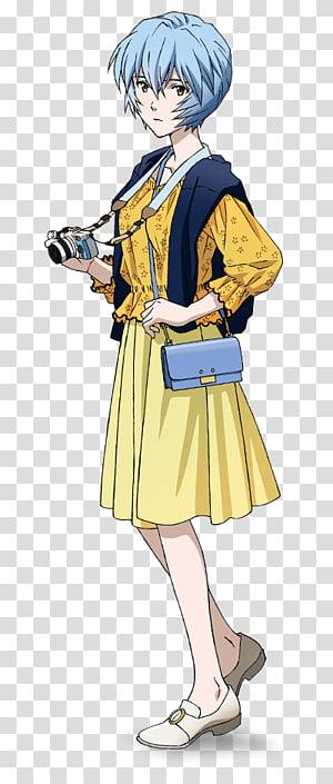 Shinji Ikari Asuka Langley Soryu Evangelion Anime Character, Rei Ayanami PNG