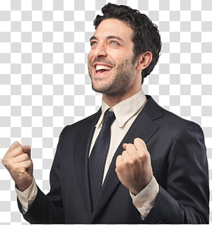 smiling man wearing black notched lapel blazer, Businessperson Investment Consultant Service, businessman PNG