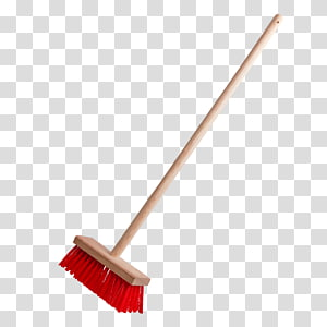 red and brown broom illustration, Broom Handle Tool Squeegee Brush, broom PNG clipart