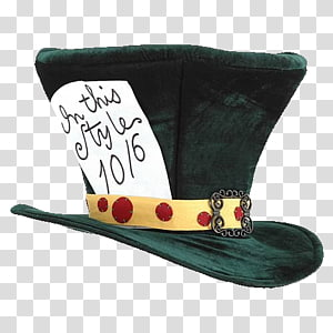 The Mad Hatter March Hare Top hat Costume, Hat PNG clipart
