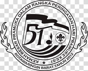 Logo Kwartir Cabang Gerakan Pramuka Indonesia Camping, logo karang taruna PNG clipart
