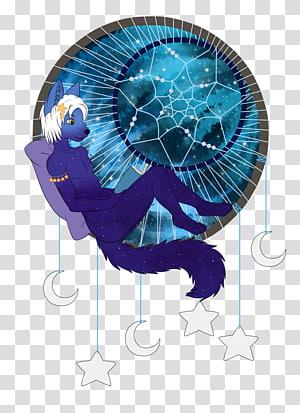 Electric blue Cobalt blue, dreamcatcher PNG