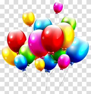 Greeting & Note Cards Birthday Wish Balloon E-card, balloons PNG