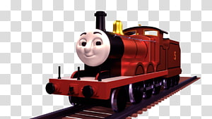 Train Thomas Toby the Tram Engine James the Red Engine Edward the Blue Engine, train PNG clipart
